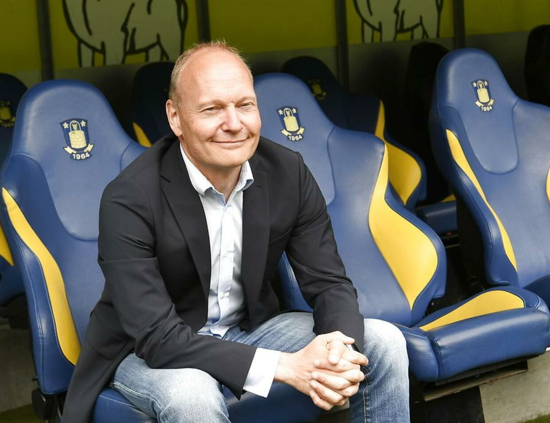 Niels Frederiksen blev præsenteret som ny Brøndby-træner i starten af juni.
