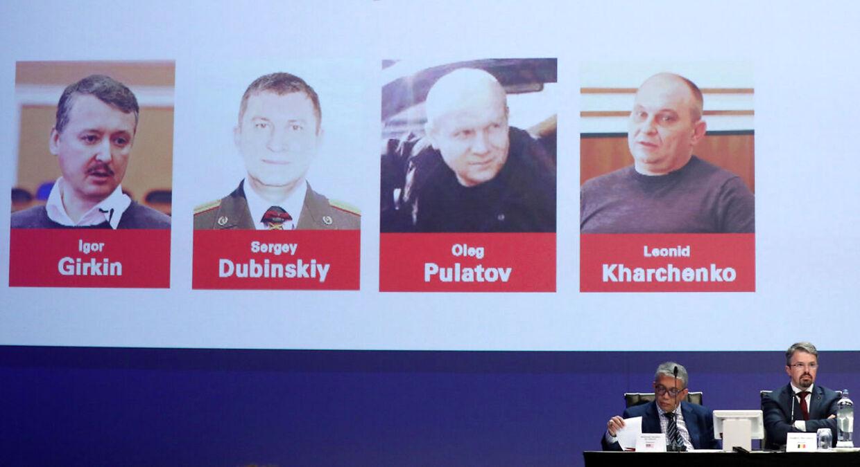 Igor Girkin, Sergey Dubinskiy, Oleg Pulatov og Leonid Kharchenko.