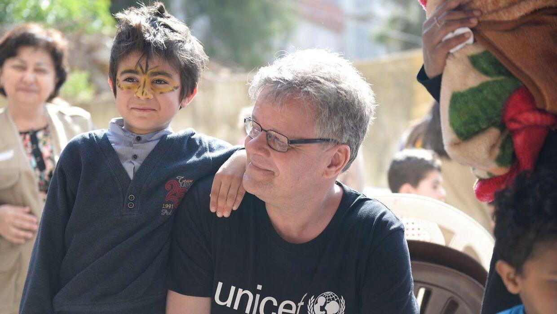 Generalsekretær Steen M. Andersen, UNICEF Danmark.