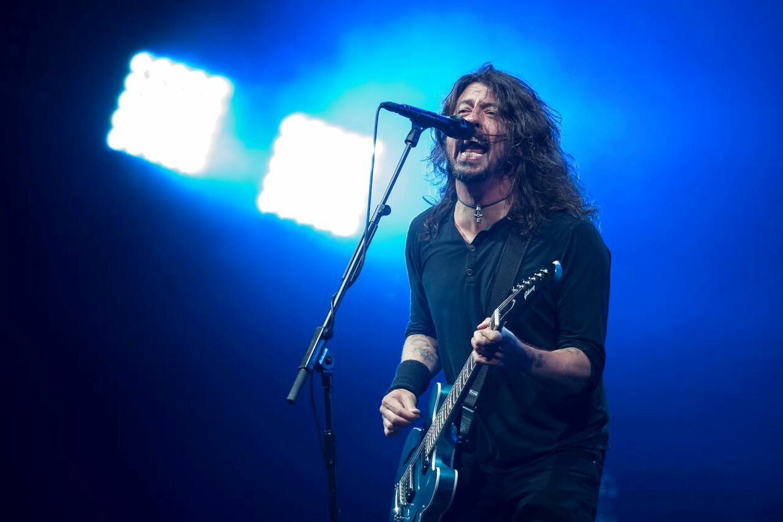ARKIVFOTO af Foo Fighters forsanger Dave Grohl.