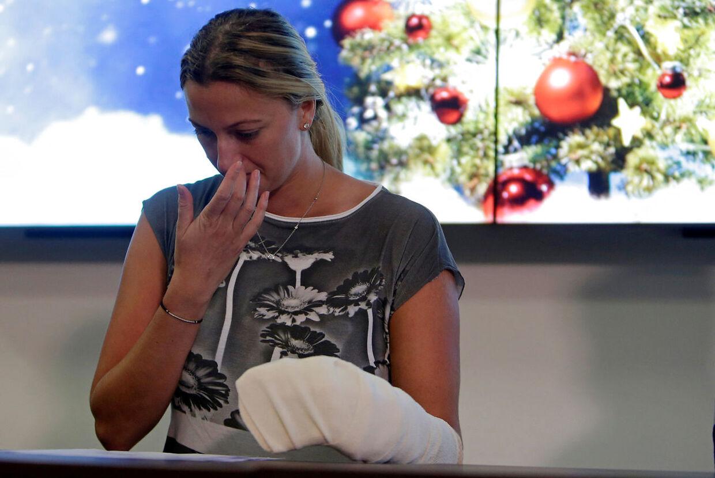 Petra Kvitova fortalte i slutningen af december 2016 på et pressemøde om det knivoverfald, der nær havde kostet hende livet.