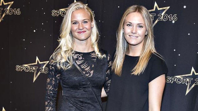 Pernille Harder med kæresten, Magdalena Eriksson.