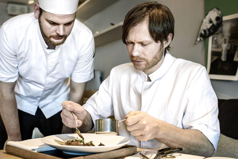 Rasmus Kofoed fra restaurant Geranium