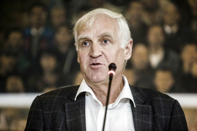Niels Nygaard, billedet, er formand for Danmarks Idrætsforbund.