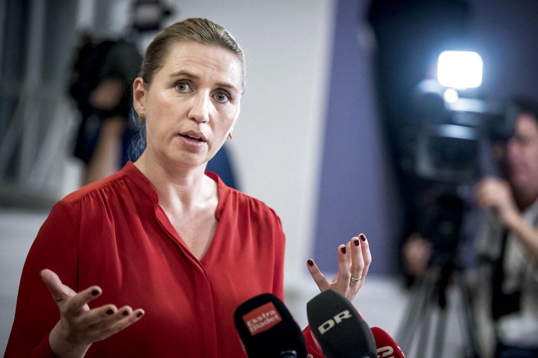 Mette Frederiksen udpeger torsdag sine ministre og præsenterer en ny regering.