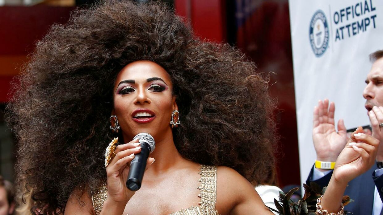 Drag queen Shangela.