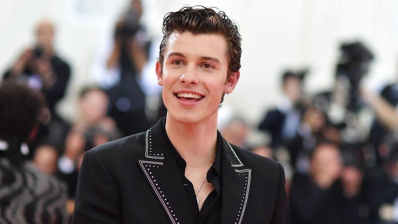 20-årige Shawn Mendes tidligere på året til MET Gala.