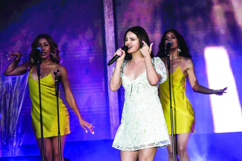Lana Del Ray spiller på Blå Scene, da Tinderbox åbner festivalen torsdag den 27. juni 2019.