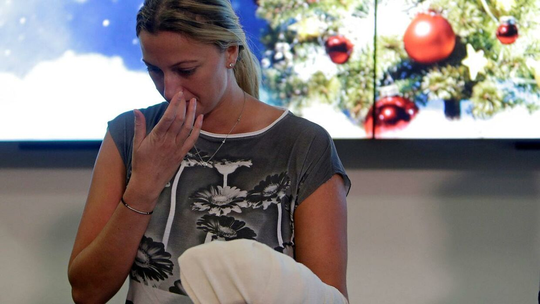 Petra Kvitova holdt pressemøde blot tre dage efter det voldsomme overfald.