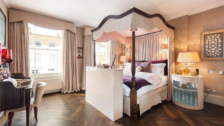 Caroline Flemings soveværelse.