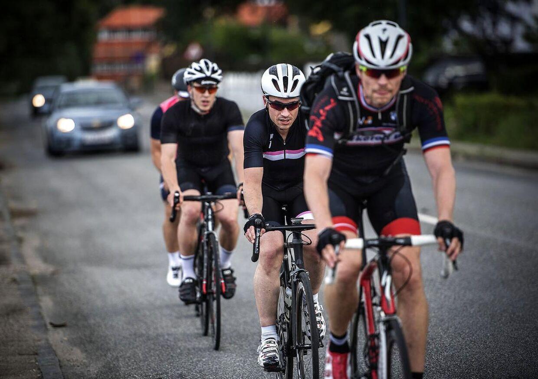 Cyklisterne har også et ansvar for ikke at fylde for meget.