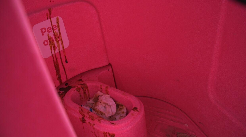 Ikke alle husker, at man kun må tisse i urinalerne.