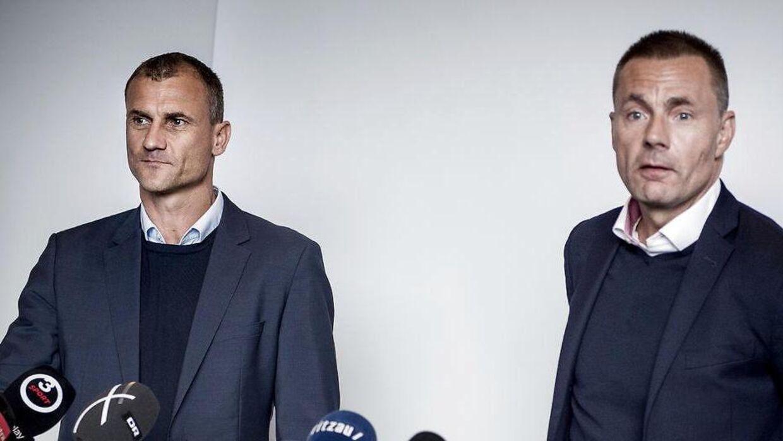 Ebbe Sand og Jan Bech Andersen.