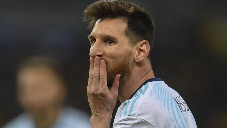 Messi ville have dommeren til at kigge på i hvert fald to episoder for straffespark, men det skete ikke.