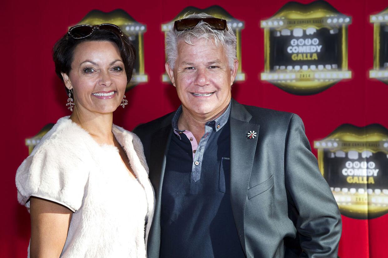 Anders Bircow med sin kone, Marion, som han har været sammen med i 22 år.