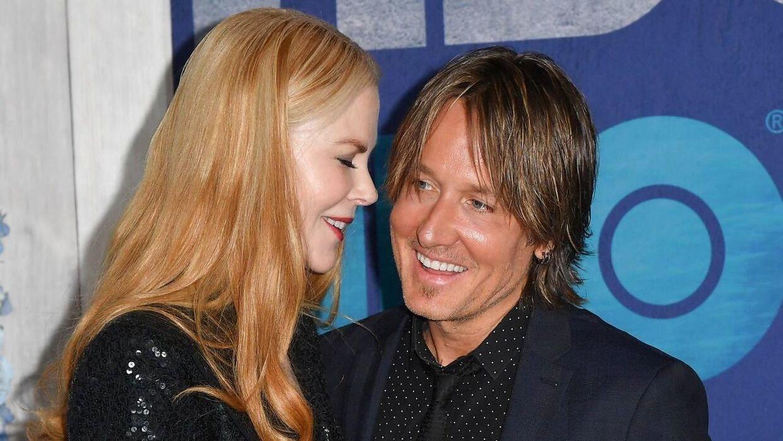 Nicole Kidman blev gift med den australske country-sanger Keith Urban i 2006.