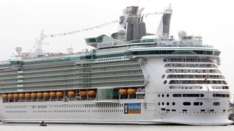 Freedom of the Seas er verdens andetstørste krydstogtskib.