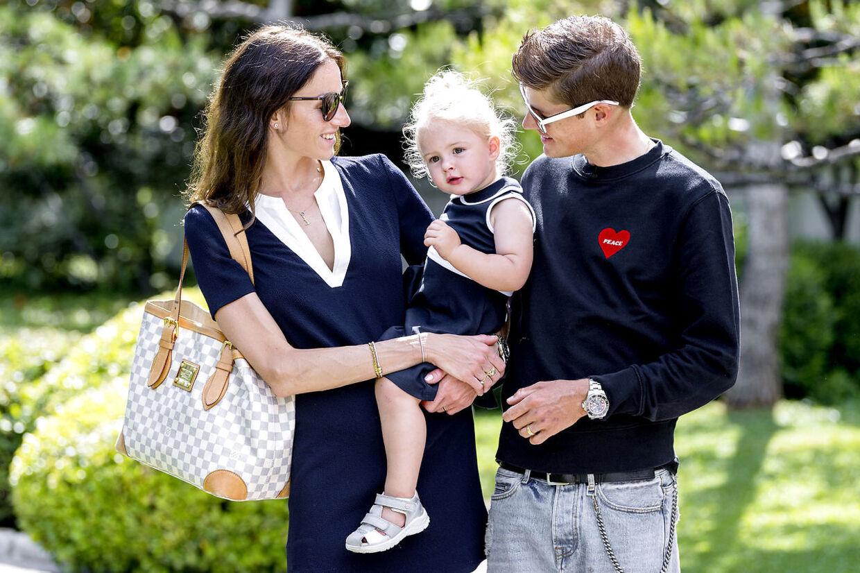 Jakob Fuglsang, dansk cykelrytter der kører for Astana Pro Team. Fuglsang bor i Monaco sammen med sin kone Loulou og datteren Jamie Lou. SPECIAL B.T.
