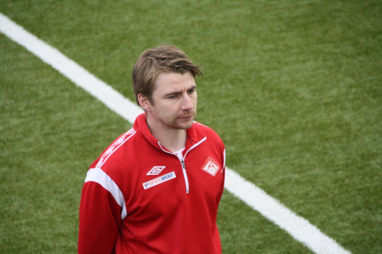 Kim André Nielsen var særdeles aktiv i Steinberg IF.