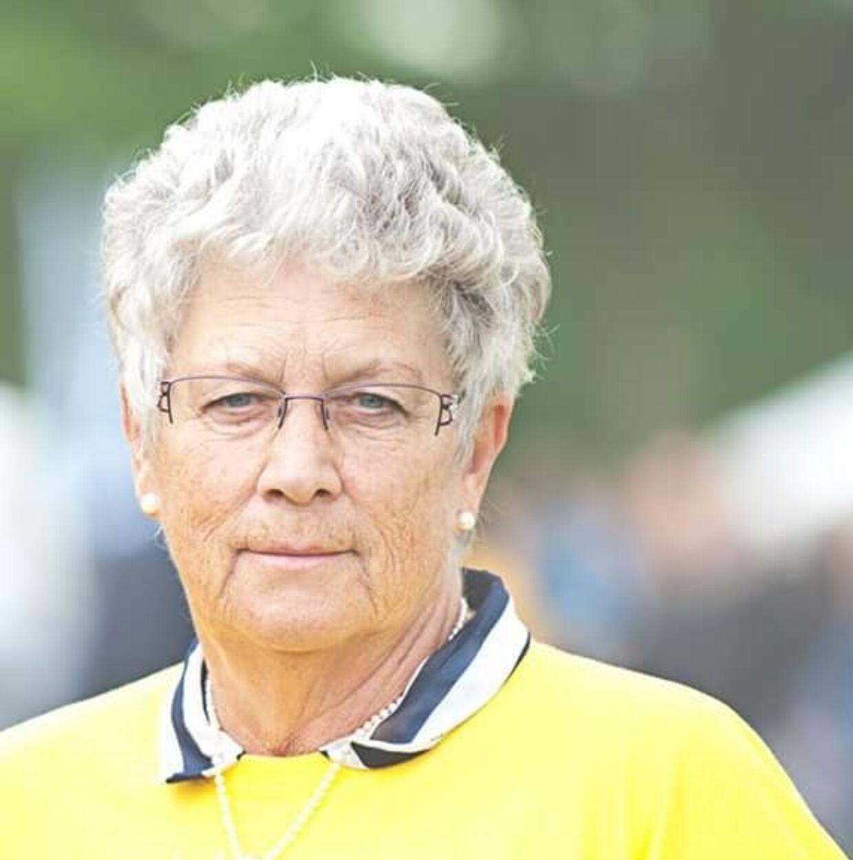 70-årige Kirsten Kristensen.