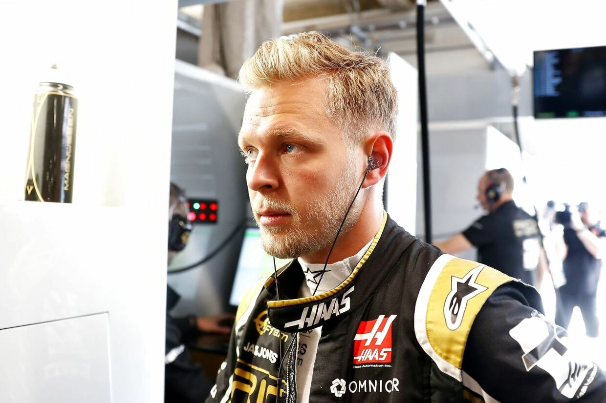 MONTREAL, QUEBEC - JUNE 07: Kevin Magnussen of Denmark and Haas F1 prepares to drive in the garage during practice for the F1 Grand Prix of Canada at Circuit Gilles Villeneuve on June 07, 2019 in Montreal, Canada. Mark Thompson/Getty Images/AFP == FOR NEWSPAPERS, INTERNET, TELCOS & TELEVISION USE ONLY ==