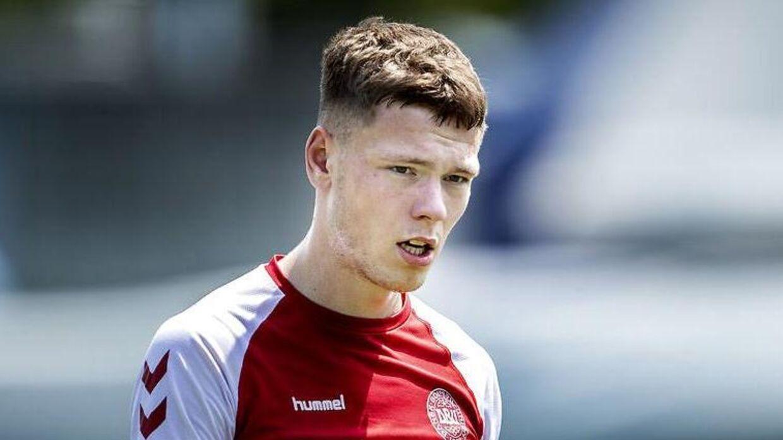 Andreas Skov Olsen skiftede i sommer fra Superliga-klubben FC Nordsjælland til Bologna i den italienske Serie A.