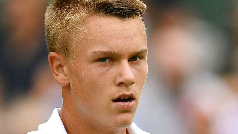 Nederlaget onsdag gjorde ondt på Holger Rune.