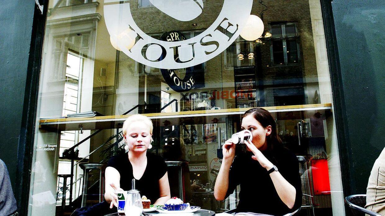 Den første Espresso House herhjemme åbnede allerede i 2000'erne i Krystalgade i det indre København. Her et billede fra 2004.