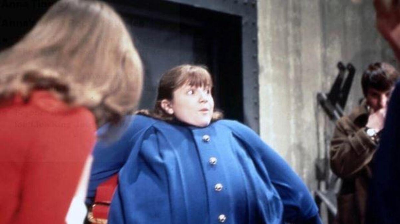 Denise Nickerson i rollen som Violet i den første spillefilmsversion af Charlie og Chokolade-fabrikken.