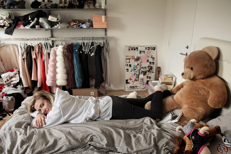 Fie Laursen er en af de mest populære danske bloggere. Hun har over 335.000 følgere på det sociale medie Instagram. (arkivfoto) Linda Kastrup/Ritzau Scanpix