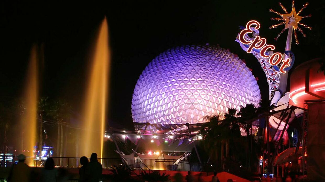 Walt Disneys Epcot Center i Florida.