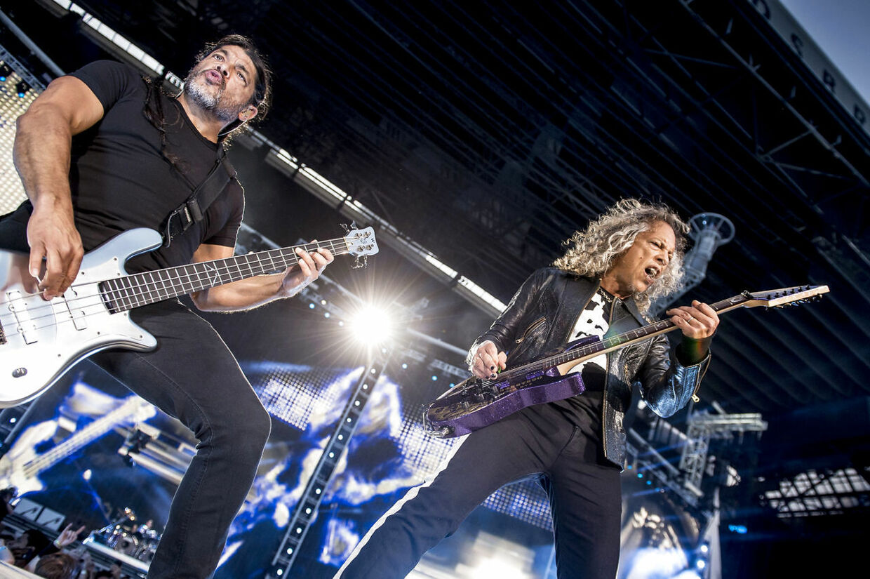 Koncert med Metallica i Parken, København, torsdag den 11. juli 2019.