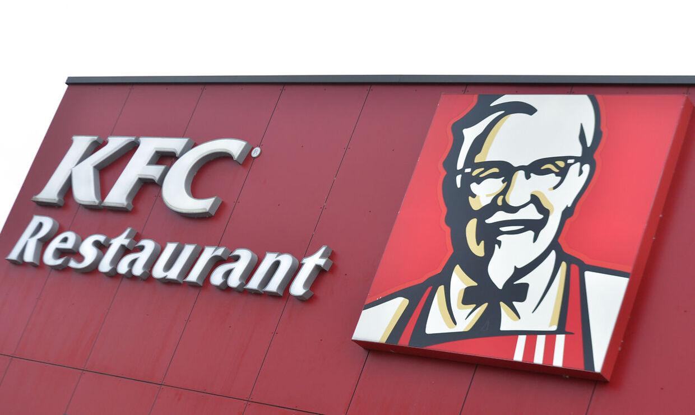 KFC har fået en sur smiley for et alt for varmt kølerum. Arkivfoto