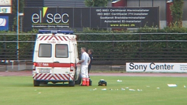 Jonathan Richter blev hentet med ambulance dengang. Han nåede at være teknisk død i 41 minutter.