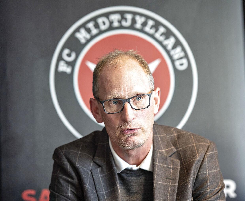 FC Midtjyllands sportschef Svend Graversen.