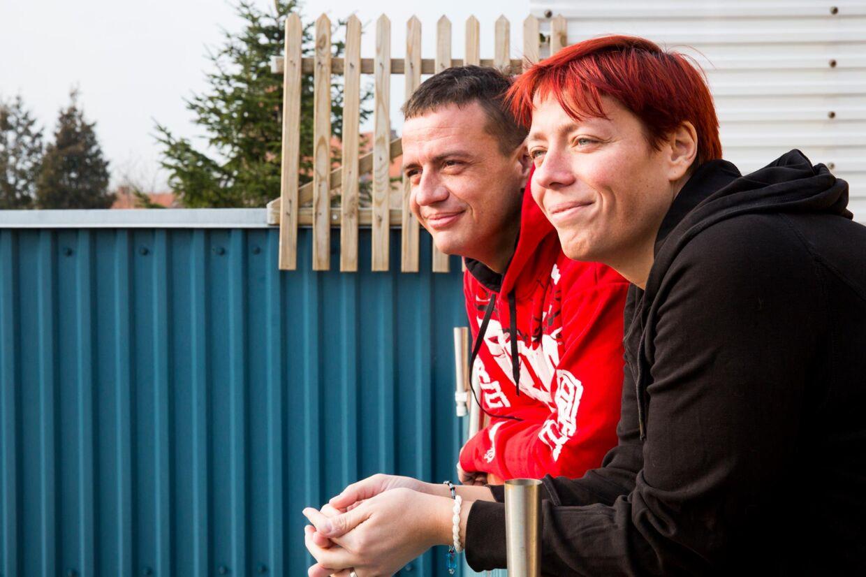 Jesper Skovshoved og Anja Sheryer mødte hinanden under optagelserne til Ekstremt fed