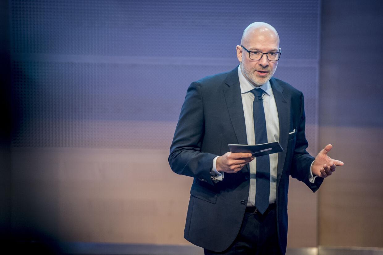 Jesper Nielsen, der er blevet fyret som direktør i Danske Bank, mister også sin plads i bestyrelsen hos Realkredit Danmark. Mads Claus Rasmussen/Ritzau Scanpix