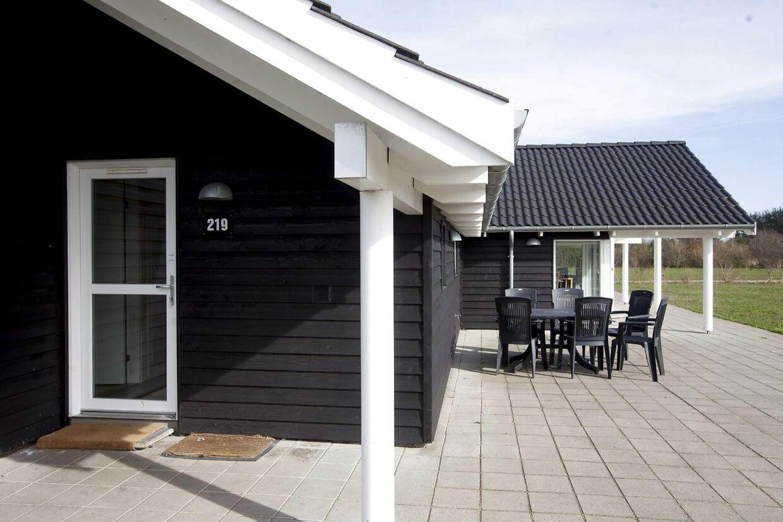 Sommerhusudlejningen i Danmark er generelt størst i Jylland og på Bornholm.