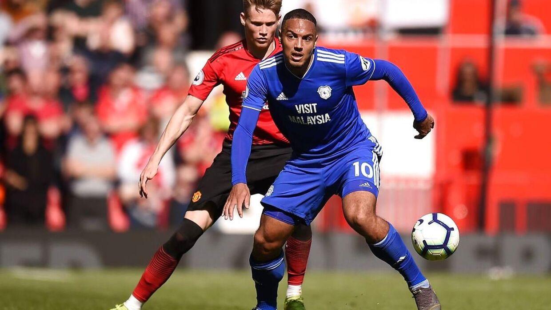 Det hed blandt andet Manchester United som modstander i sidste sæson, men nu er Zohore tilbage i Championship, og her bliver han, hvis hans skifte til West Bromwich går igennem.