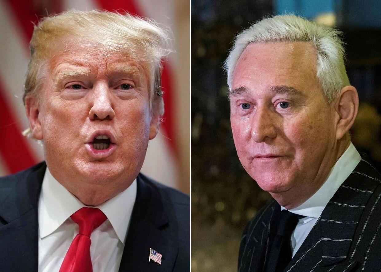 Donald Trump og Roger Stone har været gode venner siden 1990'erne.