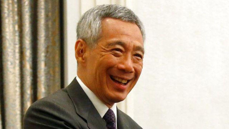 Singapores premiereminister, Lee Hsien Loong, har god grund til at smile. I hvert fald hvis man kigger på hans løn.