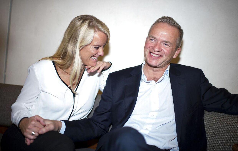 Pernille Vermund og Lars Tvede blev gift tidligere i år.