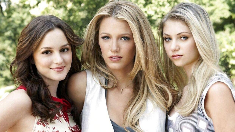 Leighton Meester (t.v.), Blake Lively og Taylor Momsen slog alle igennem i Gossip Girl. (Foto: Scanpix)