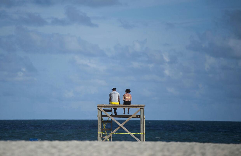 Wrightsville Beach i North Carolina.