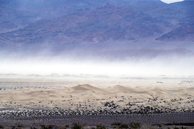 Death Valley i det østlige California er normalt USAs varmeste sted. I weekenden overtager Washington D.C. måske den position.