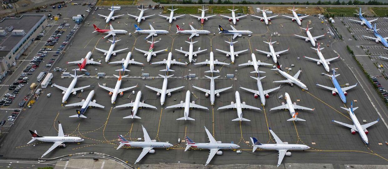 Boeing hensætter en engangsudgift på 32,5 milliarder kroner for at dække for tabet af jordbundne 737 MAX-fly.