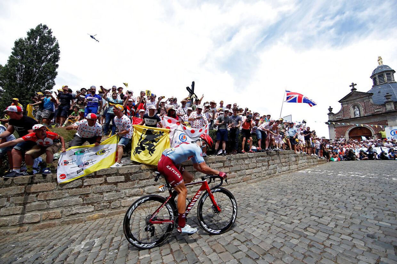 Mads Würtz Schmidt har haft et godt Tour de France indtil videre. Tilfreds var han også efter fredagens enkeltstart.