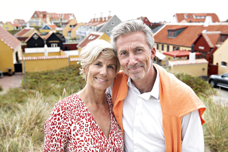 Morten Løkkegaard og Connie Dahl Løkkegaard tager til Skagen en uge om året