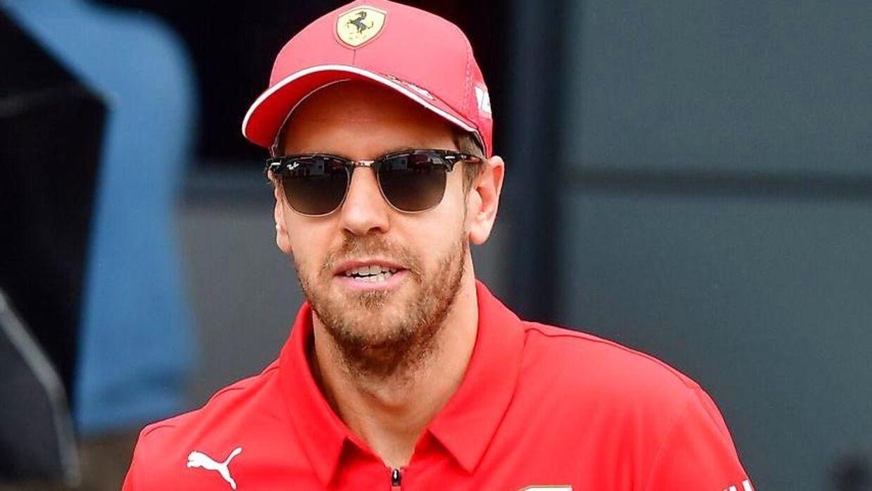 Sebastian Vettel er langt bagud i årets Formel 1.