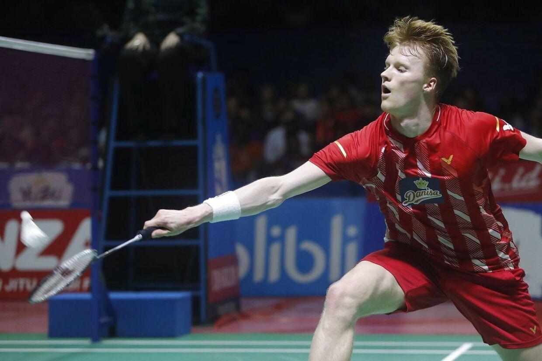 Anders Antonsen tabte finalen ved Indonesia Open.
